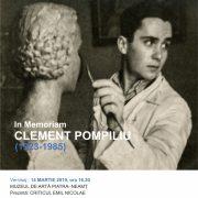 POMPILIU CLEMENT (1923-1985) In Memoriam