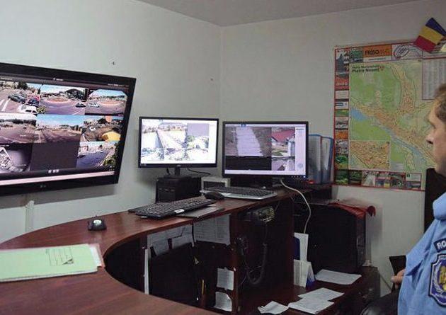 Piatra Neamţ: alte 40 de camere video vor supraveghea oraşul