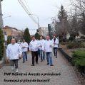 PMP Neamţ a vestit primăvara în stradă. La Mulţi Ani, doamnelor şi domnişoarelor!