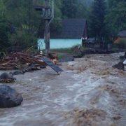 Vremea rea în Neamţ: afluenţi râurilor Bistriţa şi Moldova pot depăşi cotele de atenţie