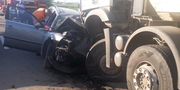 Accident rutier cu victimă, la Horia