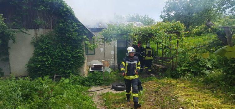 Un nou incendiu în comuna Alexandru cel Bun