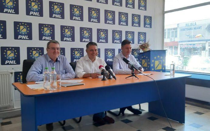 Cozmanciuc: PNL Neamţ îşi va desemna candidaţii pentru primării până în noiembrie