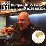 La Cocoşul de Aur, vara se încheie în stil american: Regalul burgerilor!