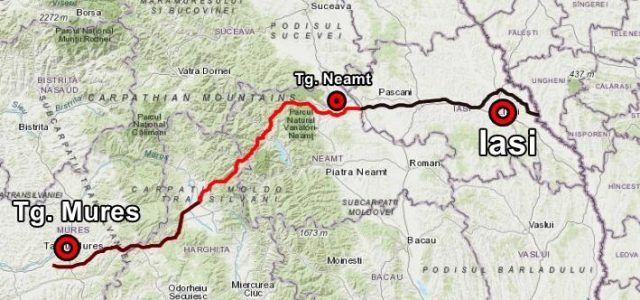CNAIR revine asupra declaraţiilor: autostrada care ar trece prin Neamt ARE autorizaţie de construcţie!