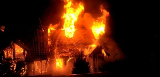 Bărbat mort într-un incendiu la Tămăşeni