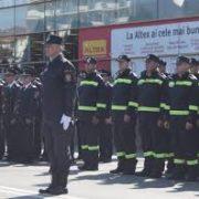 Neamţ: avansări în grad de Ziua Pompierilor