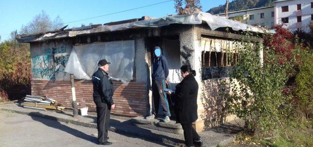 Centrală termică dezafectată, transformată în locuinţă clandestină