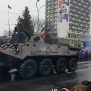 1 Decembrie 2019 la Piatra Neamţ: delegaţii din alte ţări, paradă militară, program artistic