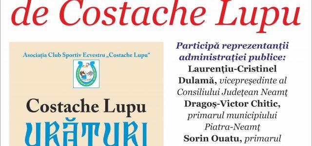 Urăturile lui Costache Lupu, publicate în primul volum al vieţii sale!