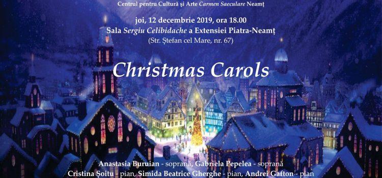 "CONCERT DE COLINDE ""CHRISTMAS CAROLS"""