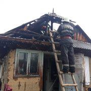 Incendiu la o căsuţă sărăcăcioasă din Netezi