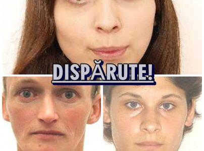 Neamt: Politia caută trei femei dispărute în zile diferite