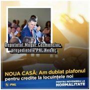 """Mugur Cozmanciuc anunţă programul """"Noua Casă"""" pentru familiile tinere!"""