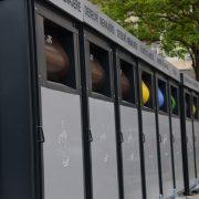 Piatra Neamţ/Precista: punct de colectare a deşeurilor supravegheat video