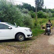 Băut şi fără permis corespunzător, cu motoscuterul prin Păstrăveni