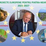 Primăria Piatra-Neamț continuă atragerea de fonduri europene în municipiu