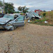 Accident cu trei victime la Ţibucani