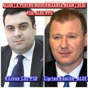 Alianţa PSD-ALDE-PPU la Piatra Neamţ: Cuc, Enache sau amândoi?