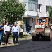 Conducerea Primăriei Piatra-Neamț – verificări pe teren ale lucrărilor edilitare
