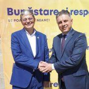 Ministrul Fondurilor Europene  despre candidatul la președinția CJ Neamț, Mugur Cozmanciuc: Este un om implicat, devotat crezului de a face bine!