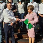 Senatoarea Emilia Arcan şi-a depus candidatura la Consiliul Judeţean