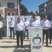 Primarul Dragoş Chitic s-a  relansat în cursa electorală sub sigla PMP