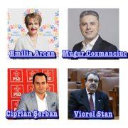 Patru parlamentari de Neamţ candidează la alegerile locale