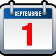1 Septembrie 2020: noi reguli privind starea de alertă