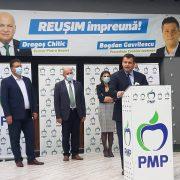 Liderii PMP la nivel naţional, alături de Mişcarea Populară Neamţ. Tomac, cel mai optimist pronostic pentru PMP Neamţ