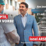 Ionel Arsene/sănătate: Pavilionul de oncologie va fi reabilitat