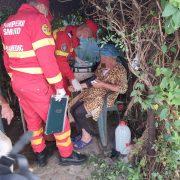 Doi bătrâni, surprinşi de explozia unei butelii din propria locuinţă