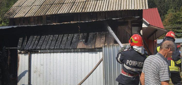 Incendiu la Tazlău