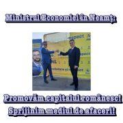 Ministrul Economiei în Neamţ, susţinere pentru candidaţii Cozmanciuc şi Carabelea