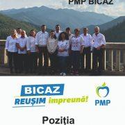 Neamţ: PMP susţine la Bicaz un independent, Victor Neculai Matei (Ţeposu)