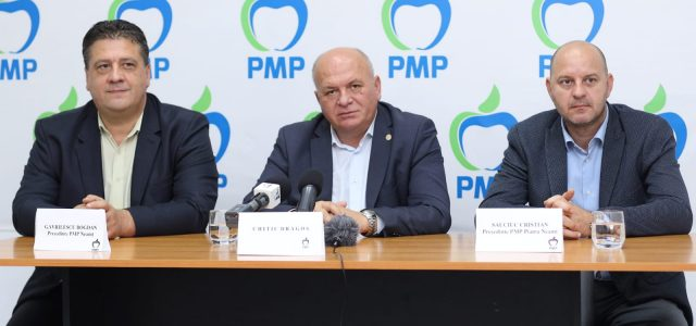 Conferinţă de presă la PMP Neamţ: PMP propune transparenţă în administraţie, în parteneriat cu cetăţeanul!